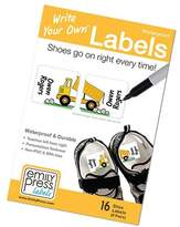Write Your Own shoe labels by Emily Press Labels - Dump Truck Boys - BPA free