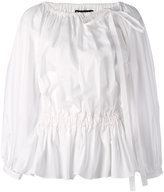 Rochas pleated blouse