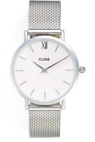 Cluse 'Minuit' Mesh Strap Watch, 33mm