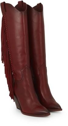 Imari Tall Fringe Boot