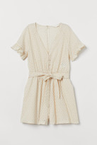 H&M Broderie anglaise playsuit