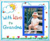 Expressly Yours! Photo Expressions With Love to Grandma - Picture Frame Gift