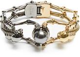 Alexander McQueen Double-skeleton bracelet