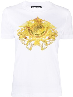 Versace Jeans Couture Barocco-print T-shirt