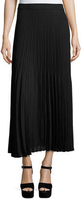 Max Studio Accordion-Pleated Maxi Skirt