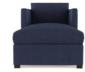 Brayden Studio Leedom Velvet Chaise Lounge Brayden Studio Upholstery Color: Plush Velvet Oyster