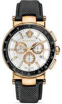 Versace Mystique Sport Chronograph Rose Gold PVD Round Watch, 43.5mm