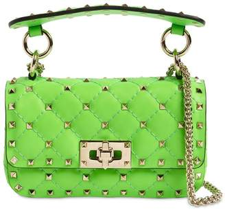 Valentino MINI ROCKSTUD SPIKE LEATHER BAG