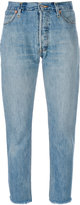 RE/DONE straight jeans - women - Cotton - 25