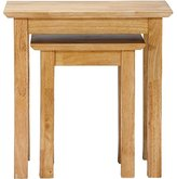 George Home Dermot Nest of Tables - Solid Wood