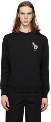 Paul Smith Black Halo Zebra Sweatshirt