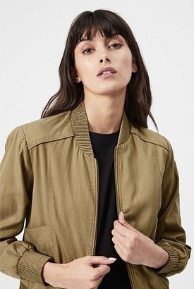 Witchery Soft Bomber