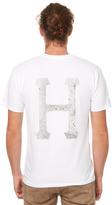 HUF Concrete Classic H Mens Tee White