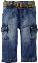Old Navy Belted Pocket Jeans for Baby