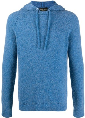 Roberto Collina Long-Sleeved Knitted Hoodie