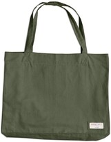 Thumbnail for your product : Uskees - The 4001 Large Organic Tote Bag - Army Green