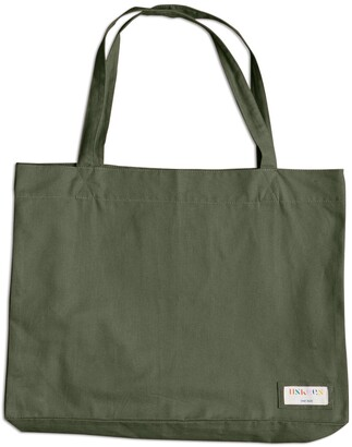 Uskees - The 4001 Large Organic Tote Bag - Army Green