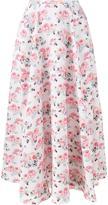 Emilia Wickstead floral print 'Eleanor' midi skirt - women - Polyamide/Polyester - 10
