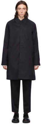 Hope Navy Solid Coat