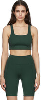 Thumbnail for your product : Girlfriend Collective Green Tommy Sports Bra