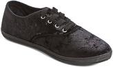 Charles Albert Black Velvet Riley Sneaker