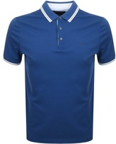 Michael Kors Greenwich Polo T Shirt Blue