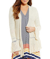 M.S.S.P. Ruffled Sleeve Layering Cardigan