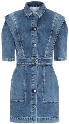 Stella McCartney Stretch-denim dress