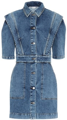 Stella McCartney Stretch-denim dress