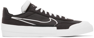 Nike Black and White Drop-Type N.354 Sneakers