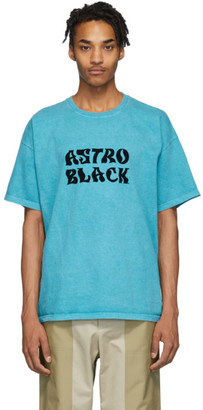 Nicholas Daley Blue Astro Black T-Shirt