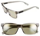 Maui Jim Women's 'Eh Brah' 55Mm Polarized Sunglasses - Light Charcoal/ Maui Ht