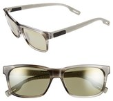 Maui Jim Women's Eh Brah 55Mm Polarizedplus2 Sunglasses - Gloss Black/ Neutral Grey