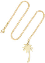 Jennifer Meyer Large Palm Tree 18-karat Gold Necklace - one size