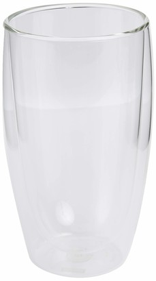 Bodum Pavina Glass Double-Wall Insulate Glass Clear 15 Ounces Each (Set of 2)