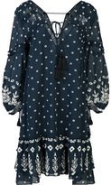 Derek Lam 10 Crosby floral print sheer dress - women - Cotton - 0