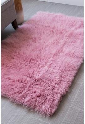 Super Area Rugs Handmade Soft Pink Area Rug Super Area Rugs