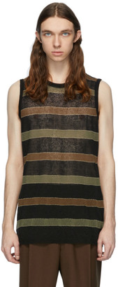 Our Legacy Multicolor Knitted Singlet Tank Top