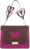 Anya Hindmarch Bathurst heart extra-small leather satchel