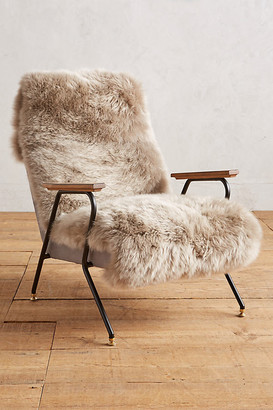 Anthropologie Auckland Quentin Chair By in Grey Size ALL