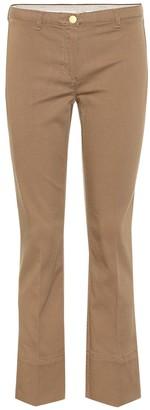 S Max Mara Feroce cotton-blend twill pants