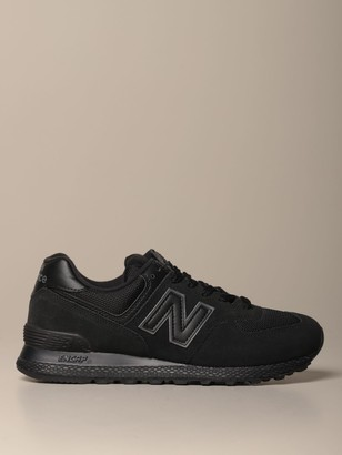 New Balance 574 Sneakers In Mesh And Suede