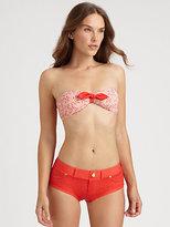Marc by Marc Jacobs Jamie Denim Bikini Top