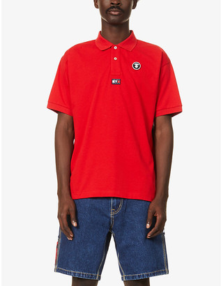 AAPE x Tommy Jeans cotton polo shirt