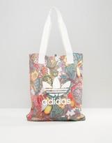 adidas Farm Print Shopper Bag In Bright Floral