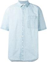 Sunnei shortsleeved denim shirt - men - Cotton - S