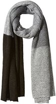 Collection XIIX Women's Oversized Colorblock Knitted Runway Wrap