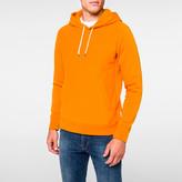 Paul Smith Men's Orange Organic Loopback-Cotton Hoodie