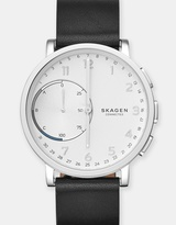 Skagen Hybrid Smartwatch Hagen Black Leather