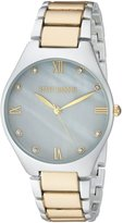 Steve Madden Women's Quartz and Alloy Casual Watch, Color:-Toned (Model: SMW070)